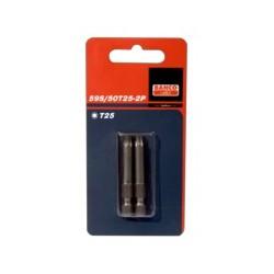 2 szt. bitów 25 mm w blistrze, do śrub TORX® (BAHCO)