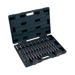 Zestaw narzędzi serwisowych do amortyzatorów, 39 szt. (BAHCO)