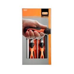 Zestaw 5 pilników z rękojeściami (BAHCO)