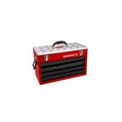 Metalowa skrzynka narzędziowa z 4 szufladkami i tacą (BAHCO)