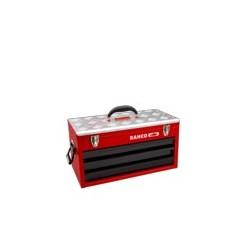 Metalowa skrzynka narzędziowa z 3 szufladkami (BAHCO)