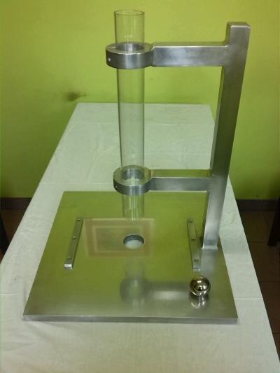 Przyrząd do sprawdzania wytrzymałości płyty HDF